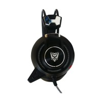 Rexus Gaming Headset F-35 Mic Vibration Led Light