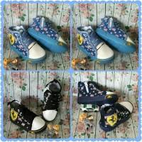 Sepatu anak import boots Ferrari jeans 21-25 (insole besar)
