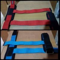 STRAP Fitness tali tangan besi Merah,Biru,Oranye (Malang)