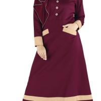 baju gamis wanita baju muslimah terbaru model casual trendy mewah
