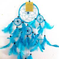 Jual Dreamcatcher Biru Murah