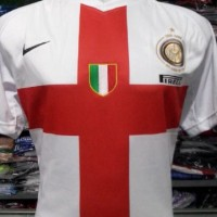 JERSEY RETRO INTER MILAN AWAY 2007/2008 CENTENARY