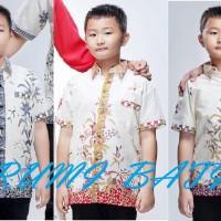 Kemeja / Hem / Atasan / Baju / Anak Laki Laki Batik 1963 Besar