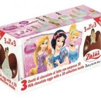 Zaini Disney Princess Egg Surprise Chocolate isi 3 Cokelat Hadiah Gift