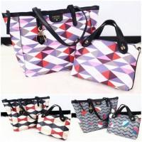 Tas Fossil Sydney Shopper Tote 2in1 Bags 4777 (Wanita Shopper Branded)