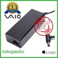 harga Ori Garansi 1th Adaptor/charger Laptop Sony Vaio 19.5v - 4.7a (logo) Tokopedia.com