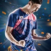 Baju Victor National Team Jersey Korea Badminton (IMPORT)
