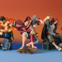 Action Figure Set PVC One Piece Episode Of Characters 1
