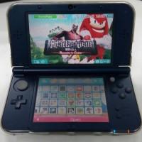 Jual 3DS XL second mulus + memory 64gb + mica + screen protector + pocket Murah