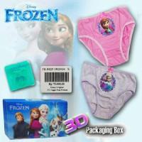 Disney Girls Underwear - Celana Dalam Anak - Frozen Isi - 2pcs