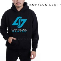 Jaket Hoodie Logo Counter Logic Gaming - Roffico Cloth