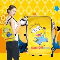 harga Tas Serut Ransel Anak Sekolah Minion / Sport Bag Gym Futsal Basket Tokopedia.com