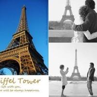 Jual Miniatur Menara Eiffel (8cm) Limited Murah