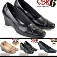 Jual Sepatu pantofel kerja kantor formal resmi wanita kulit boots Murah