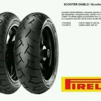 BAN PIRELLI 90/90-14 /DIABLO SCOOTER /FREE PENTIL TUBELES