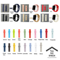 38mm Apple Watch iWatch Tali Jam Rubber Silicone Sport Strap Band