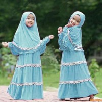 Syari anak zenna,baju gamis anak,fashion muslim,grosir,sale,promo,SW
