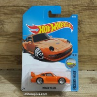 DIECAST HOT WHEELS PORSCHE 993 GT2 Orange FACTORY FRESH DTX58-D7B3