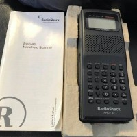 500 Channel Multi-Trunking Handheld Scanner - Radio Shack Pro-92 - New