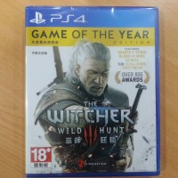 Game Ps4 THE WITCHER 3: WILD HUNT GOTY Region 3