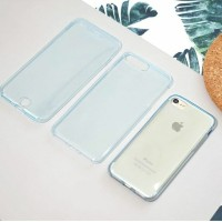 Casing HP Protect 360 Jelly Case Iphone 5/6/6+/7/7+ Transparan Blue
