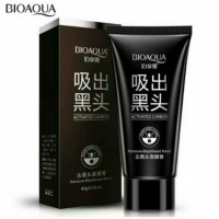Jual BIOAQUA Black Mask blackhead remover / masker arang hitam Murah