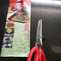 gunting dapur 3 rangkap