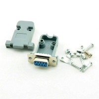 cover socket DB9 DB 9 male or female connector case chasing