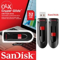 Flashdisk Sandisk 32 Gb Cruzer Glide Usb Flash Drive Original Memory