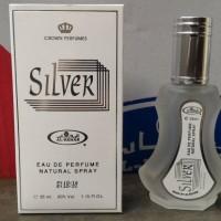 Parfum Al Rehab Spray Silver 35ml Original