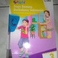 SASEBI (Saya Senang Berbahasa Indonesia) Kelas 3 SD Penerbit Erlangga