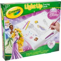 Crayola Princess Light Up Tracing Desk