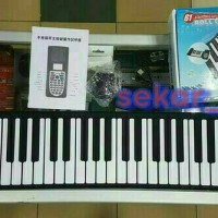 PORTABLE FLEXIBLE ROLL UP PIANO 49 KEYS
