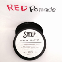 POMADE SMITH DAPPER SPATTER MEDIUM WATERBASED + FREE SISIR & POUCH