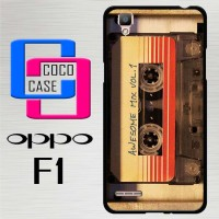 Casing Hardcase Hp Oppo F1 Awesome Guardians Galaxy X4397