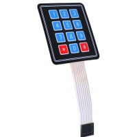 4x3 Matrix Array 12 Key Membrane Switch Keypad Keyboard for Arduino