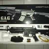airsoft gun sepring both elephan m16a6