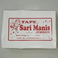 Tape Sari Manis Asli Jember | 900 gram