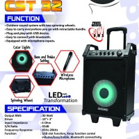 Harga speaker simbada cst 32 trolly amplifier sound | antitipu.com