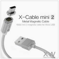 Jual WSKEN X CABLE MAGNETIC MINI 2 SINGLE CONNECTOR MICRO USB FOR ANDROID Murah
