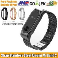 Jual MIJOBS Milan Stainless Steel Strap Untuk Xiaomi Mi Band 2 Murah