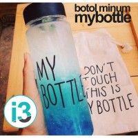 Jual Botol Minum / Minuman Plastik Bening My Bottle / Mybottle 500ml Murah Murah