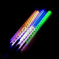 LED Meteor Light 3528 60 Mata Multicolor 50 Cm Dekorasi Hias Rain Show