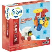 Gigo Cars Mini Educational Toys 3+