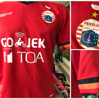 Jual Jersey Persija Home 2017/2018 official gojek traveloka liga Murah