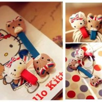 Jual Cord Holder Hello Kitty UK lucu Murah