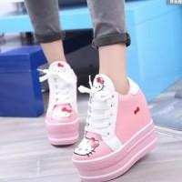 Jual Jual Sepatu Boots Wanita Korea Hello Kitty SBO314 Murah