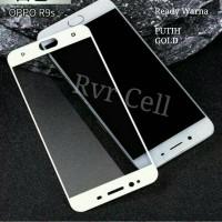 Tempered Glass Full Layar Oppo F1S / A59 / F1 S Selfi Warna Full Cover