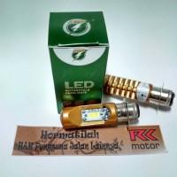 Bohlam lampu LED Motor vario dll merk RTD soket H6 pnp arus DC