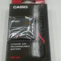 Baterai Casio NP-60 / Casio Exilim Np 60